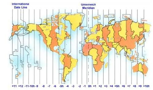 Get The Timing Right Survival UK - China time zone map